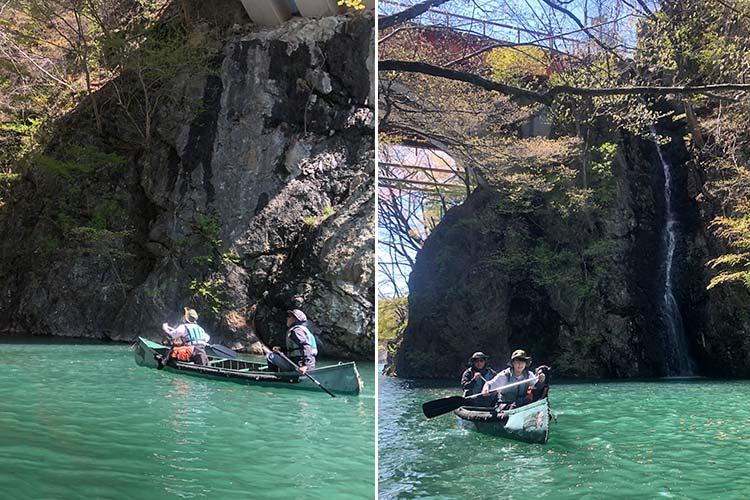 駒形峡の滝
